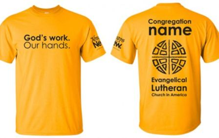 God's Work – Our Hands T-Shirt Sale